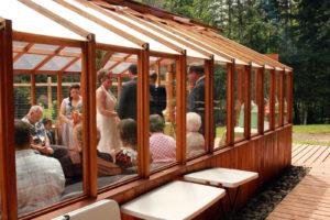Weddings at StormKing near Mt. Rainier